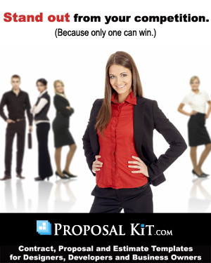 Business proposal templates and software